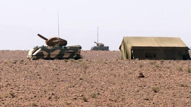 المغرب يعزز منطقة الصحراء بترسانة ثقيلة للقوات المسلحة الملكية..
