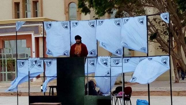 جمعية أوديسا تنظم عروضا لمسرح الشارع بمدينة العيون