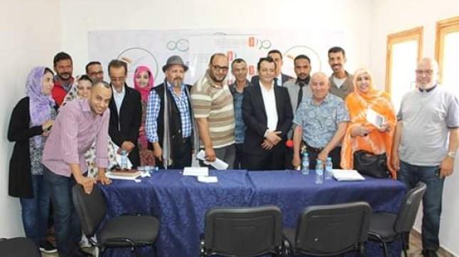 انتخاب شرف الدين عضوا بالمكتب الوطني لنقابة الفنانين