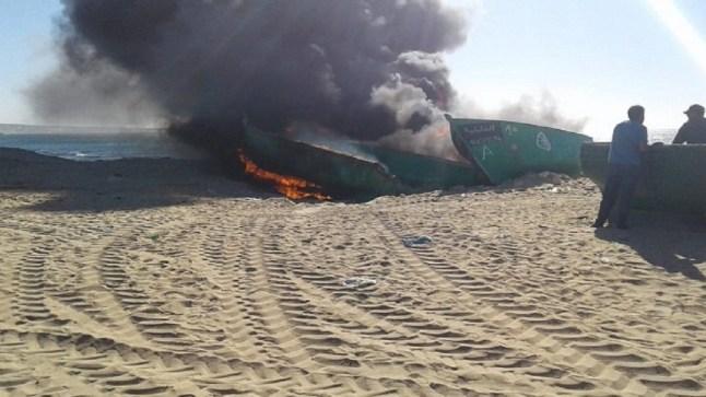 السلطات تحارب تهريب الأخطبوط وتوقف 236 قاربا خشبيا بقرية للصيادين ببوجدور