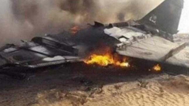 سقوط طائرة عسكرية بالجزائر! وتسجيل حالتي وفاة..
