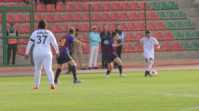 النادي البلدي النسوي ينتصر في وديته ضد برشلونة..