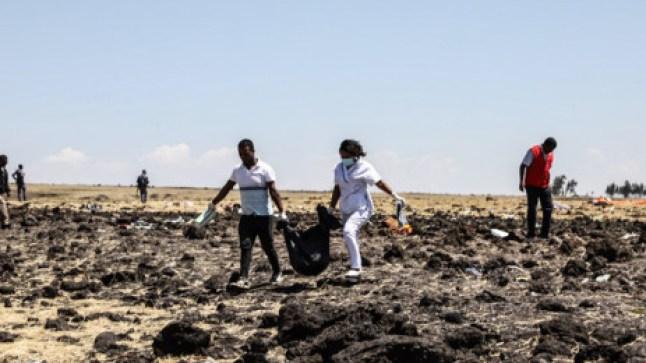 تحطم الطائرة الإثيوبية.. يسجل مقتل مغاربة!