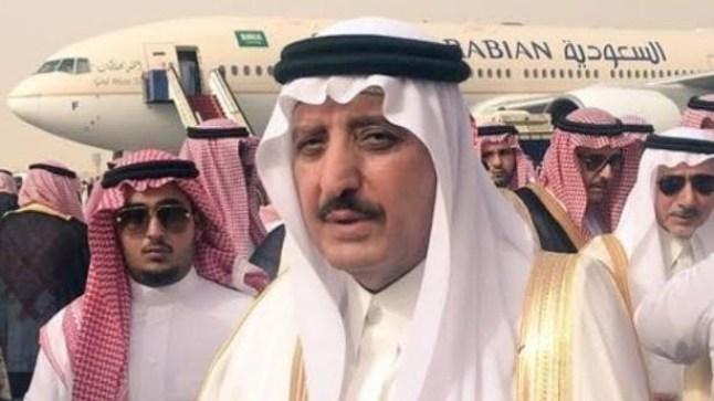 شقيق ملك السعودية يتوجه إلى السمارة مواصلا رحلات الصيد بالصحراء..