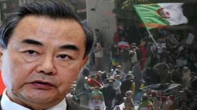 الصين تعلن موقفها من الحراك الشعبي في الجزائر..