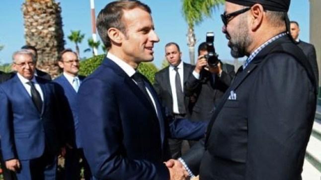 الملك محمد السادس يبعث برقية دعم وتضامن للرئيس الفرنسي بعد حريق كاتدرائية نوتردام