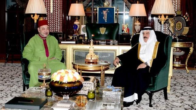 الملك البحريني يستقبل بوريطة.. والأخير يحمل رسالة من الملك محمد السادس