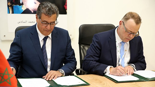 المغرب يوقع إتفاقيات تعاون وتبادل للخبرات الفلاحية مع ألمانيا وسويسرا بمعرض مكناس الدولي..