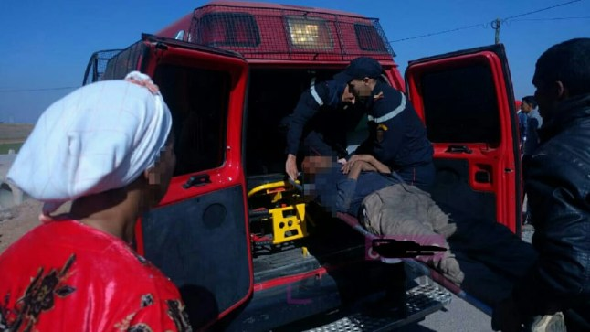 وفاة 18 مهاجر إفريقي في حادثة سر مروعة ببركان..