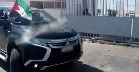 السلطات المغربية تستعيد سيارة مسروقة من قبل موالٍ للبوليساريو في الكركرات!