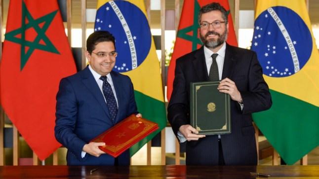 خارجية البرازيل تعلن دعمها لجهود المغرب من أجل إيجاد حل لقضية الصحراء..