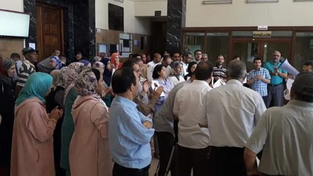 المحاكم المغربية تعيش على وقع الاحتجاج والإضراب