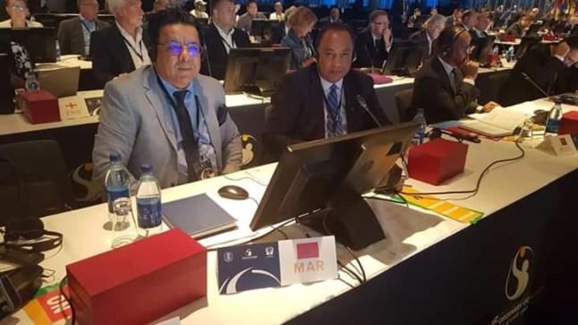 """برافو ولد الصحرا. """"الحنفي العدلي"""" نائبا لرئيس الإتحاد الدولي المتوسطي لكرة اليد"""