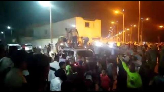 مدينة العيون على صفيح ساخن.. بعد انتصار منتخب الجزائر في نهاية كأس إفريقيا..