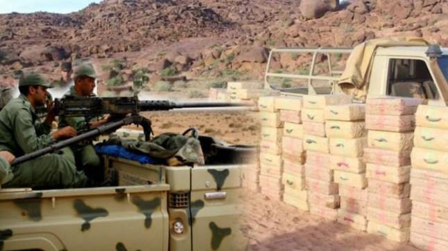 الجيش المغربي يطلق الرصاص لإيقاف سيارة محملة بنصف طن من المخدرات بالسمارة!