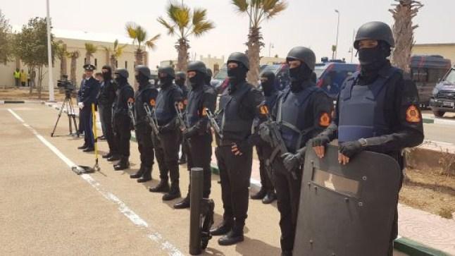حفاظا على النظام العام..فرقة أمنية خاصة تحل بالعيون..