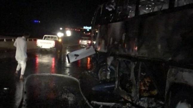 مصرع أكثر من ثلاثين شخصا بحادث سير في المدينة المنورة
