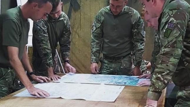 الجيش المغربي والبريطاني يختتم فعاليات مناورة جبل الصحراء..