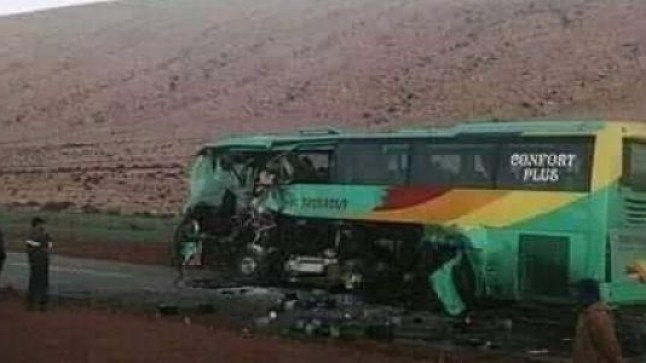 حادثة سير بين كليميم والطنطان تسفر عن وقوع 3 ضحايا..