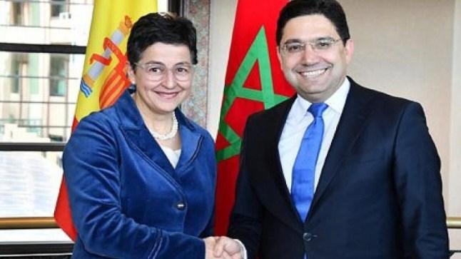 عبر تغريدة لها. وزيرة الخارجية الاسبانية لا تعترف بالجمهورية الصحراوية