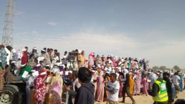 """الاحتجاجات في مخيمات تندوف توقف ماراثونا تنظمه """"البوليساريو"""""""