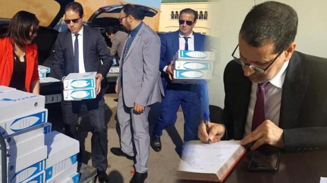 العثماني يتسلم رسمياً 40 ألف توقيع لإحداث صندوق مكافحة مرض السرطان !