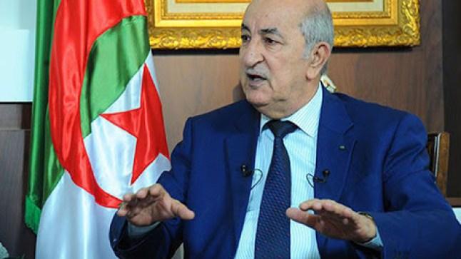 تبون يحمّل المغرب مسؤولية إخفاقات بلاده