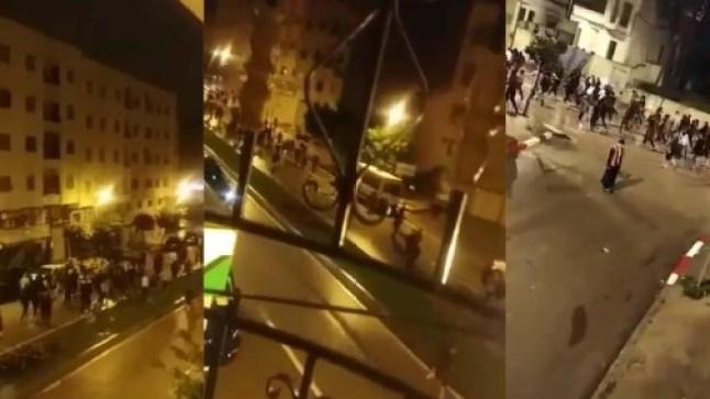 مسيرات متفرفة في طنجة وفاس مع ثالث أيام حظر التجول