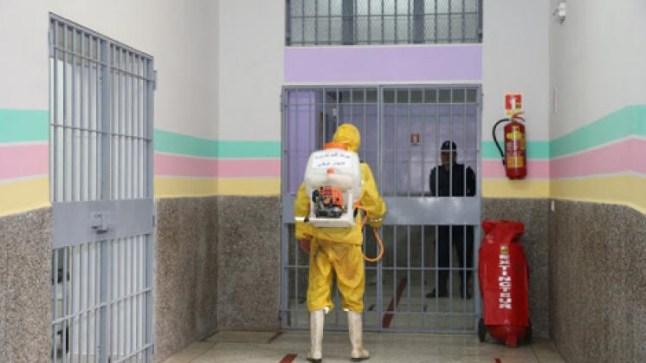 بعد تفشي كورونا في السجون..المندوبية تقرر منع إخراج المعتقلين إلى المحاكم والمستشفيات