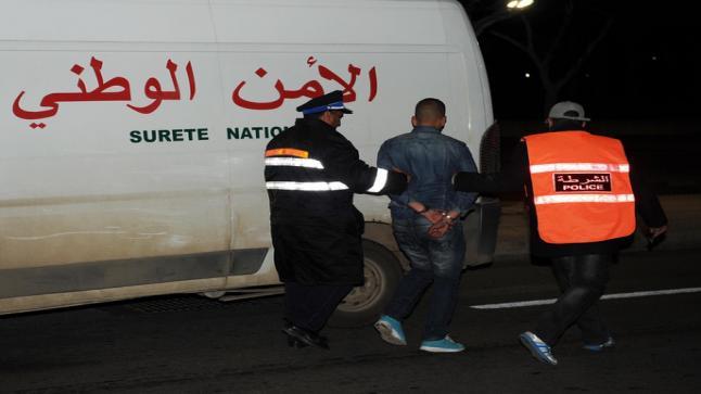 أمن بوجدور يوقف ستة أفراد من عصابة إجرامية..