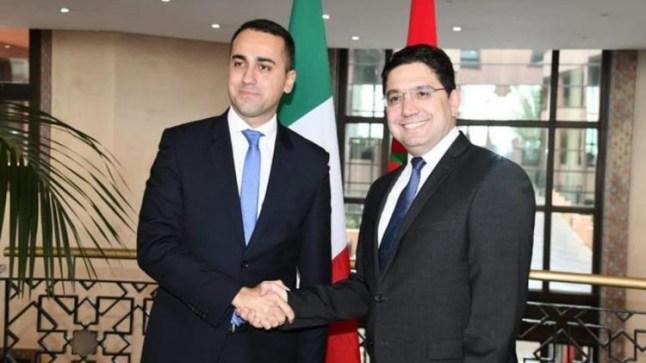 وزير الخارجية الإيطالي يُشيدُ بجهود المغرب لإيجاد حل للأزمة الليبية