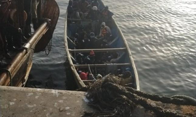 إنقاذ41 مهاجرا ماليا في عرض سواحل بوجدور