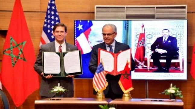 المغرب يوقع مع الولايات المتحدة اتفاقية تعاون عسكري لمدة 10 سنوات