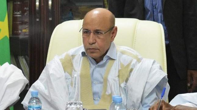 """عاجل. وفد من البوليساريو يلتقي الرئيس الموريتاني """"ولد الغزواني"""""""