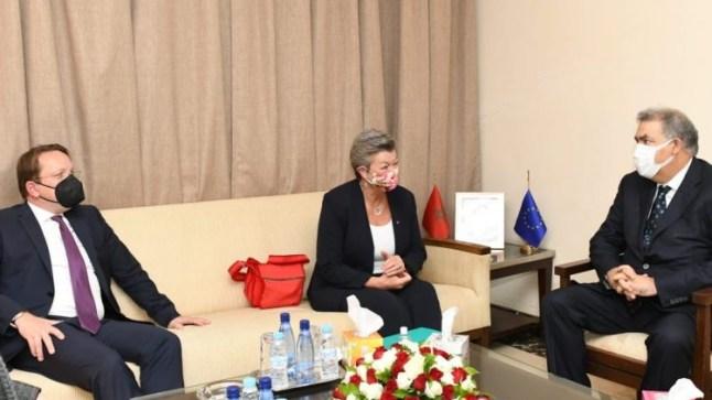 مفوضة الإتحاد الأوربي للشؤون الداخلية: المغرب شريك موثوق للغاية وتجمعنا شراكة متميزة