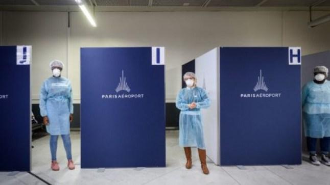 فرنسا تفرض على المسافرين المغاربة تحاليل كورونا لدخول أراضيها