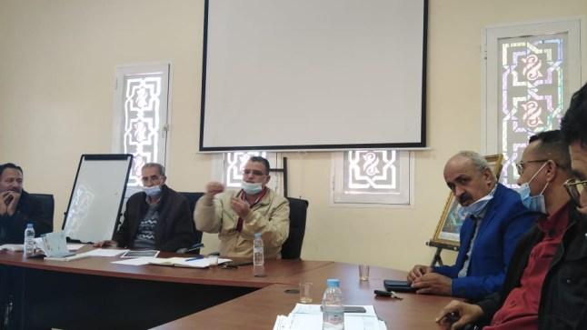 تأسيس جماعات الممارسة المهنية ببوجدور