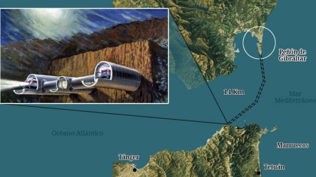 صحيفة إسبانية : بريطانيا تتجه لإنجاز نفق بحري مع المغرب عبر جبل طارق والإستغناء عن أوربا
