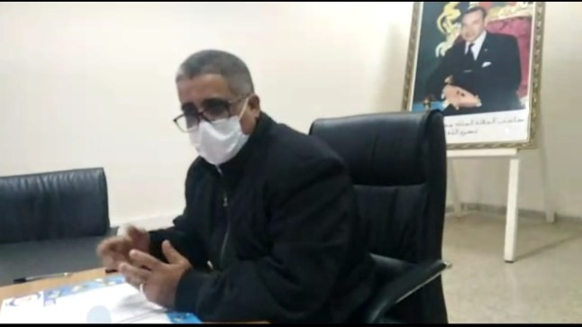 """المندوب الإقليمي للصحة ببوجدور في حوار خاص مع """"شطاري"""" : أوجه نداء للساكنة لمواصلة التزام أقصى درجات الحذر من وباء كوفيد"""