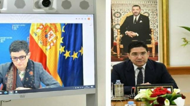 بوريطة يجري مباحثات ثنائية مع وزيرة الخارجية الإسبانية أبرز محاورها القضايا الاقليمية ذات الاهتمام المشترك