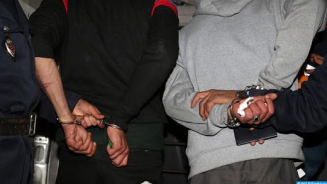 توقيف شخصين متورطين في الاتجار وحيازة المخدرات