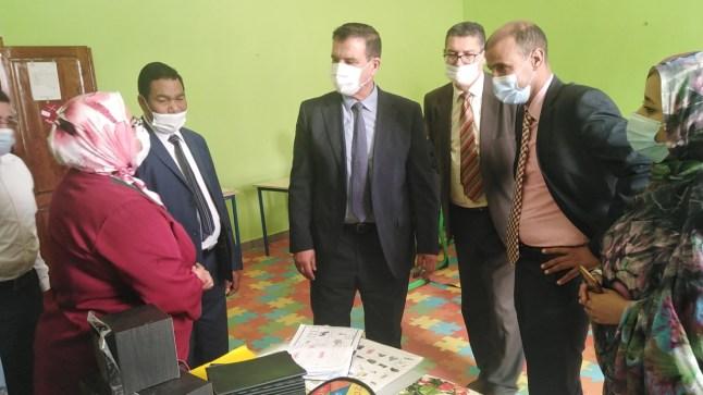 عامل إقليم بوجدور يتفقد مركب ذوي الاحتياجات الخاصة