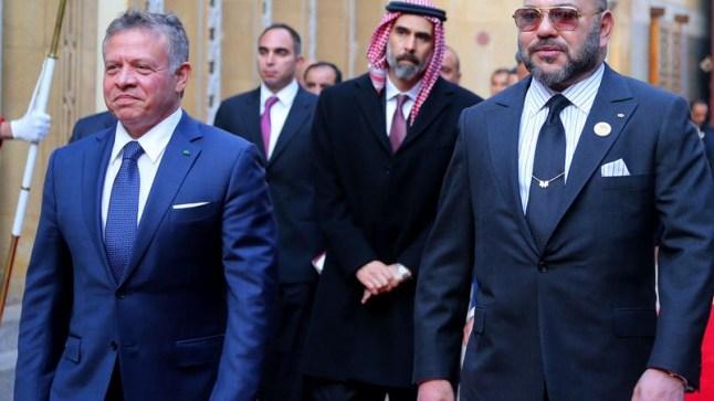 محمد السادس يتصل بالعاهل الأردني ويؤكد له دعم المغرب لسيادة وأمن الأردن