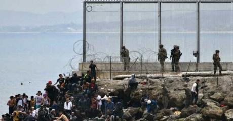 إسبانيا تعزز حدودها مع المغرب لمنع وصول المهاجرين