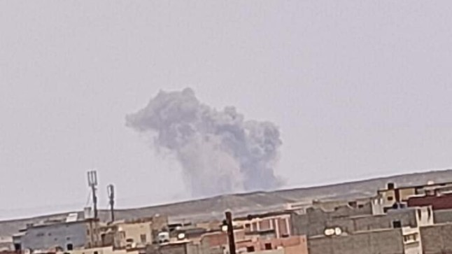 القوات المسلحة المغربية تفجر قنابل من مخلفات الحرب نواحي السمارة بحضور ممثلين عن المينورسو