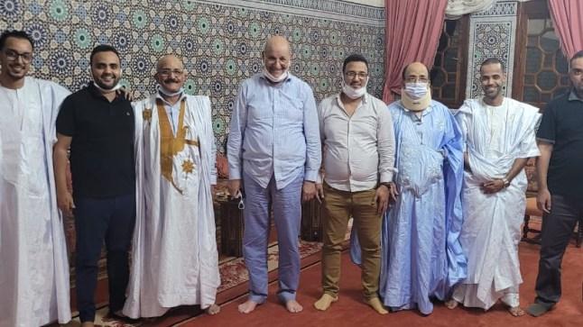 عائلة أهل لخريف بالسمارة تلتقي ولد الرشيد وتعلن  رسميا الإنضمام لحزب الإستقلال