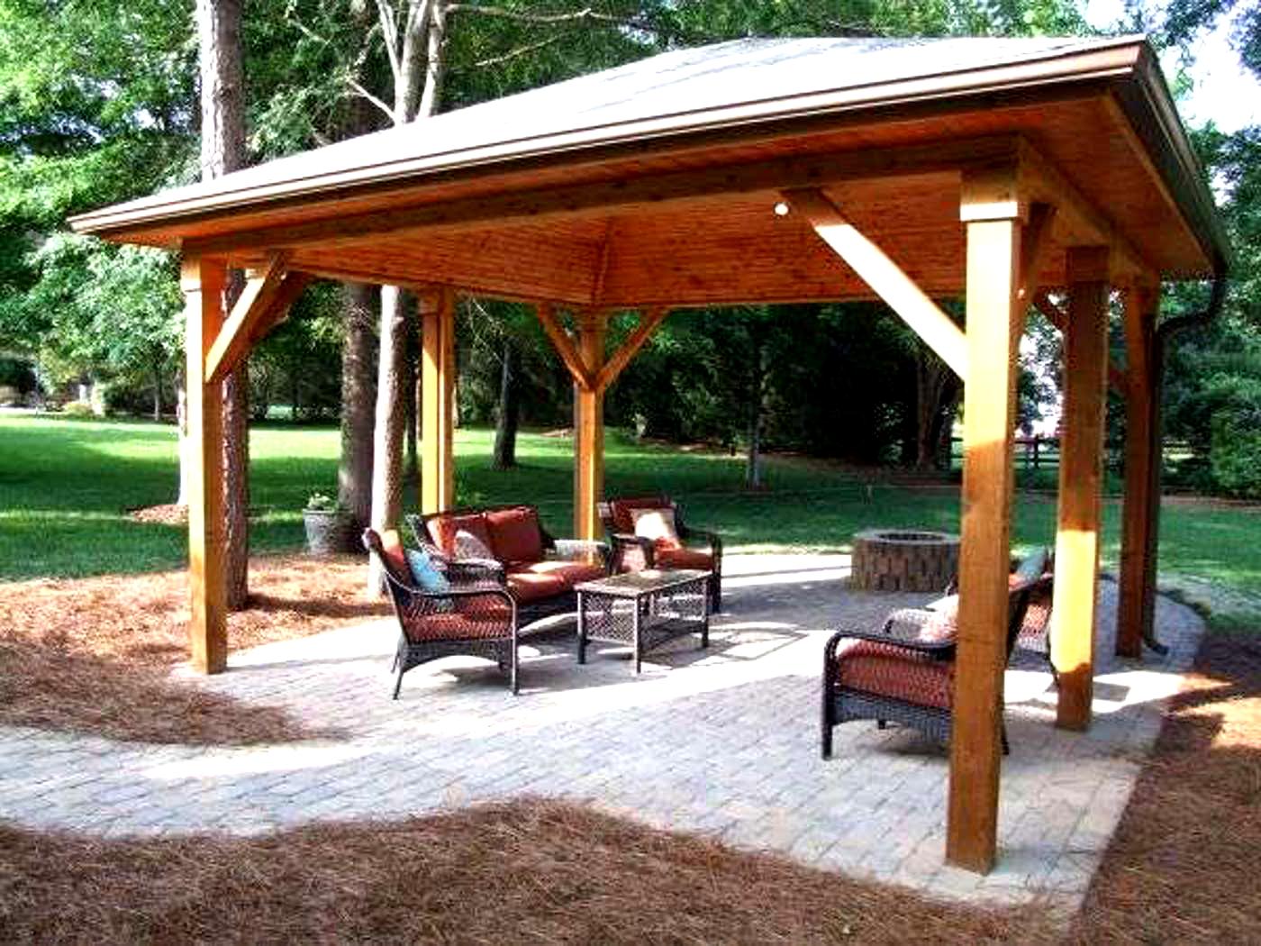 How To Build Backyard Pavilion Plans Pdf Plans