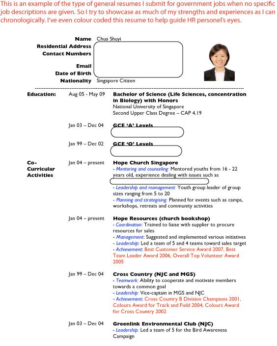 CV & Resume Writing   Job Hunter's Guide