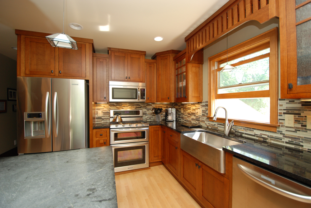Kitchen Remodel  Classic Craftsman Style  The Chuba Company