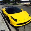 That one time when a yellow Ferrari 458 Italia showed up at the office